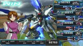 getlinkyoutube.com-Gundam Extreme Versus Full Boost PS3 : Strike Freedom Gundam - 001