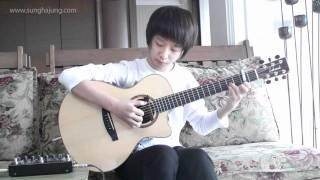 (Yiruma) Kiss_The_Rain - Sungha Jung