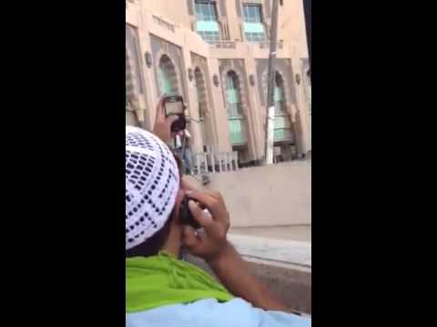 مصري يهتف ضد الملك عبدالله بالقرب من الحرم المكي