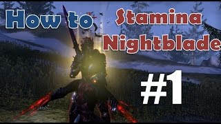 getlinkyoutube.com-How to Stamina Nightblade -  Part 1 Skills
