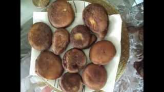 Receita Caseira: Bolinho Frito de Trigo