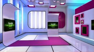 getlinkyoutube.com-Orad's virtual studio library: News Desgin Set