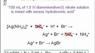 AP Chemistry 10/6 Complexation