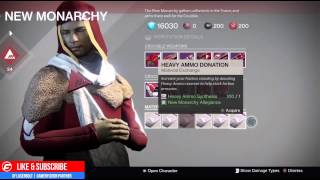getlinkyoutube.com-Destiny The Taken King How to GET AN EXOTIC CLASS ITEM from Your Faction