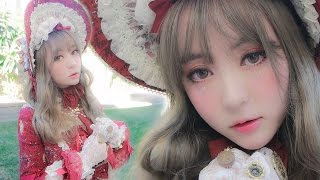 getlinkyoutube.com-스위트 클래식 로리타룩 메이크업/Sweet classical lolita makeup tutorial