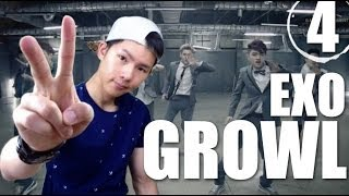 EXO - Growl | Step by Step Dance Tutorial Ep.4