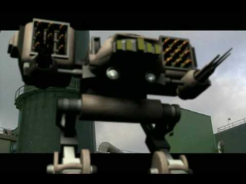 Robert Egnacheski - 3D Mech Animation Test - Mech Powerup Animation