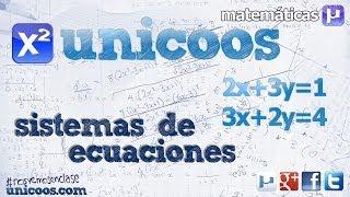 Imagen en miniatura para Sistema de ecuaciones - Método de igualación