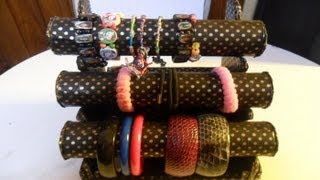 getlinkyoutube.com-diy:organizador de pulseras   Bracelets Organizer