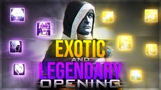 getlinkyoutube.com-Destiny: MASSIVE Exotic and Legendary Engram Opening!!