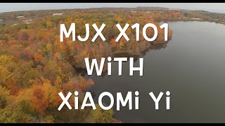 getlinkyoutube.com-MJX X101 Drone with Xiaomi Yi 1080p HD Aerial Video