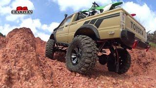 getlinkyoutube.com-15 Scale RC Trucks Offroad Adventures Jeep Wrangler Dodge TF2 hilux Defender 90 Unimog