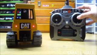 RC Conversion Bruder Cat D5 operating instruction video