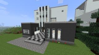 getlinkyoutube.com-【MineCraft】一級建築士を目指して!! 第8話 ~モダンハウス/Modern House~ 【実況】