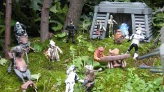 getlinkyoutube.com-Star Wars: Battle of Endor Diorama