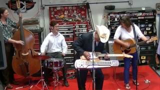 A Rock And Roll Medley - Junior Brown at Mercury Charlies New Hot Rod Shop