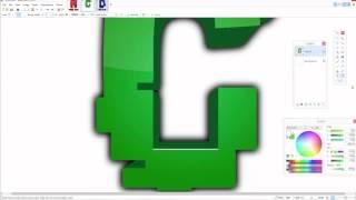 getlinkyoutube.com-How to make a clan logo/graphics Paint.net