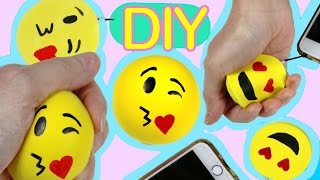 getlinkyoutube.com-Squishy foam and Stress ball  emoji