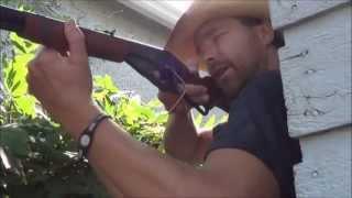 getlinkyoutube.com-Daisy Air Rifle Review - Red Ryder Carbine 650 shot BB Rifle