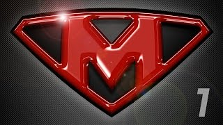 getlinkyoutube.com-Photoshop Tutorial: Part 1 - Create a Powerful, Custom, SuperHero Emblem Logo