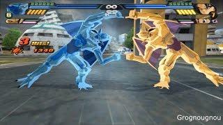 getlinkyoutube.com-Fusion Nuova shenron and Eis Shenron VS Goku, Pan & Majuub (Dragon Ball Z Budokai Tenkaichi 3 mod)