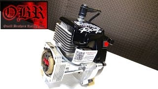 getlinkyoutube.com-RC ADVENTURES - OBR 9.7hp Full Mod 38cc WiDOWMAKER Gas Engine - Mesh Mod & Kill Switch Install