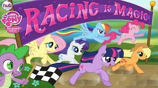 getlinkyoutube.com-My Little Pony Friendship is Magic Racing is Magic Video Game for Children