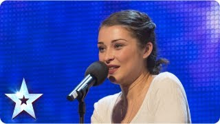 getlinkyoutube.com-Alice Fredenham singing 'My Funny Valentine' - Week 1 Auditions | Britain's Got Talent 2013