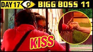 Vikas Gupta KISS Shilpa Shinde   Bigg Boss 11 Day 17 – Episode 17   18th October 2017 Episode Update