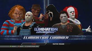 getlinkyoutube.com-Jason Voorhees vs Michael Myers vs Freddy Krueger vs Ghostface vs Chucky vs Penny-wise | WWE 2K15