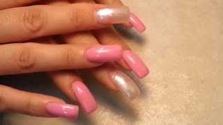 How to Acrylic Square Finger Nails Shape.