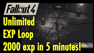 Unlimited EXP loop 1500-2000 exp in 5 minutes | Fallout 4 | xBeau Gaming