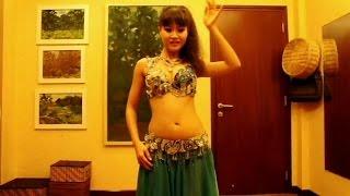 """getlinkyoutube.com-BELLY DANCER HO LAN """"I'm Too Sexy"""""""