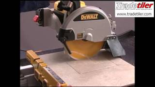 getlinkyoutube.com-Dewalt D24000 Electric Tile Cutter - Tradetiler