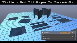 getlinkyoutube.com-Modularity & Odd Angles on Blender's Grid