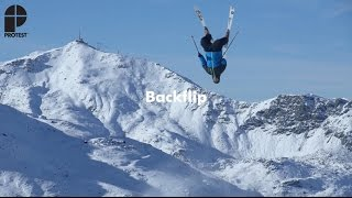 getlinkyoutube.com-How To Freeski: Backflip | Freeski Tricks presented by Protest
