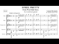 I Feel Pretty  - for woodwind quintet