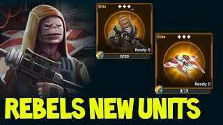 getlinkyoutube.com-NEW Star Wars Commander ROGUE ONE Units ! Drabatan Saboteur & Fang Fighter !!  (Rebels #56)