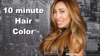 getlinkyoutube.com-10 minute Hair Color