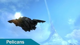 Halo Reach Mods - Pelicans on Forge World *Download*