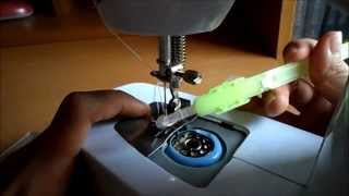getlinkyoutube.com-How to get the Thread from the Bobbin Case | Portable Sewing Machine