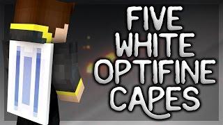 getlinkyoutube.com-5 White Optifine Cape Designs! - Themed Optifine Capes