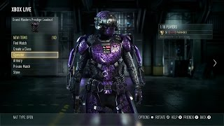 getlinkyoutube.com-CoD Advanced Warfare - Entering Grand Master Prestige! (what happens + combat record)