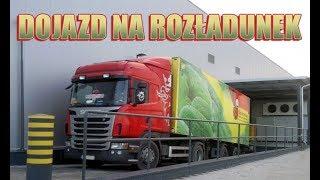 getlinkyoutube.com-Ciężarówka Biedronki dojeżdża na rozładunek