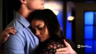 getlinkyoutube.com-Aria and Ezra Season 1 Moments Part 1