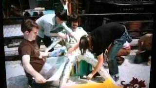 getlinkyoutube.com-Dave Grohl being wrapped in tin foil