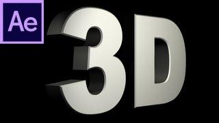 getlinkyoutube.com-After Effects Tutorial: CS6 New 3D Text Extrusion -HD-