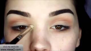 getlinkyoutube.com-مكياج للعيون الواسعة