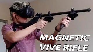 getlinkyoutube.com-MAGNETIC VIVE RIFLE Review, John Wick #2