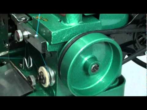 Overlock Semi-Industrial Enhebrado Paso 1 en MAQUINERIA BEIRO